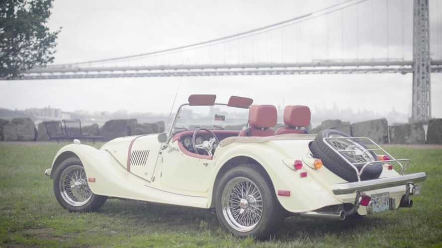 Morgan V8 Roadster being sold with matching rare whisky