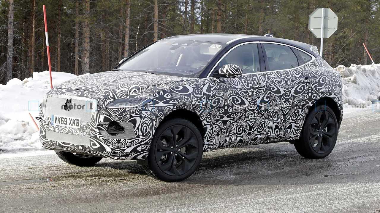 2021 Jaguar E-Pace Spy Photos