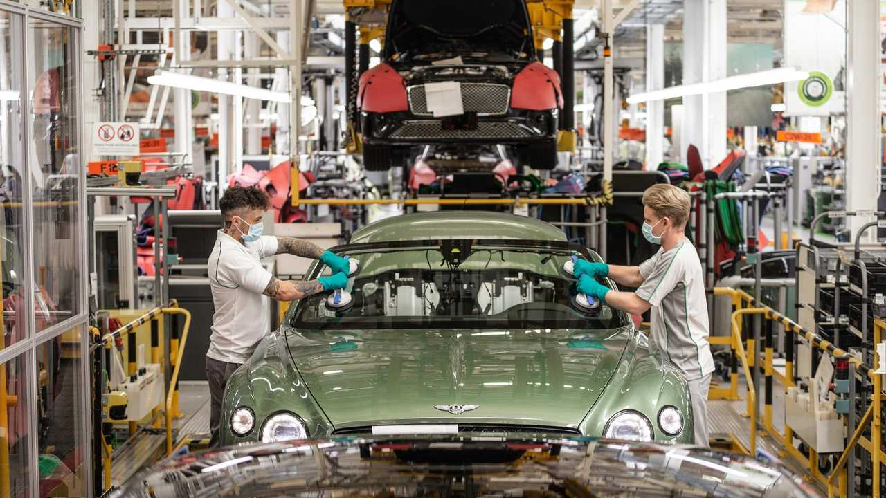 Bentley coronavirus factory restart