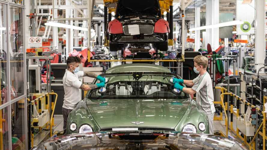 Bentley outlines post-lockdown production changes