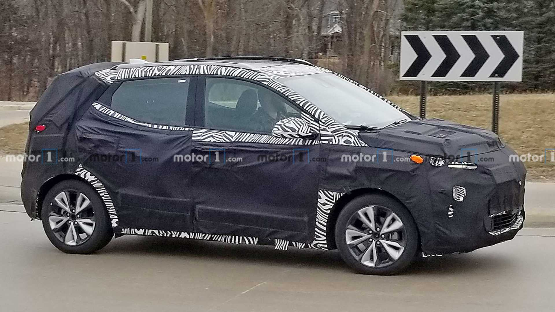 Chevrolet Bolt Euv Crossover Spied For The First Time