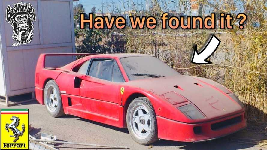 Sadam Hussein's Son's Ferrari F40 Found? That was Quick