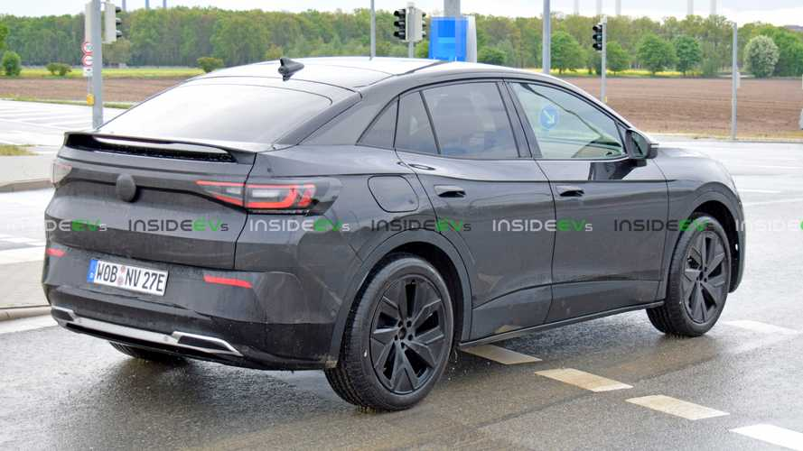 Production-Spec VW ID.4 Coupe Spotted Wearing Minimal Camo