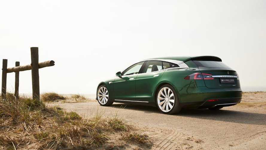 One-off Tesla Model S estate could be yours for a ridiculous price