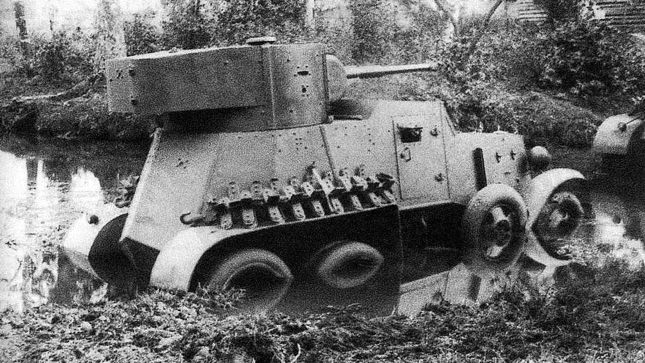 1936 год – БА-6