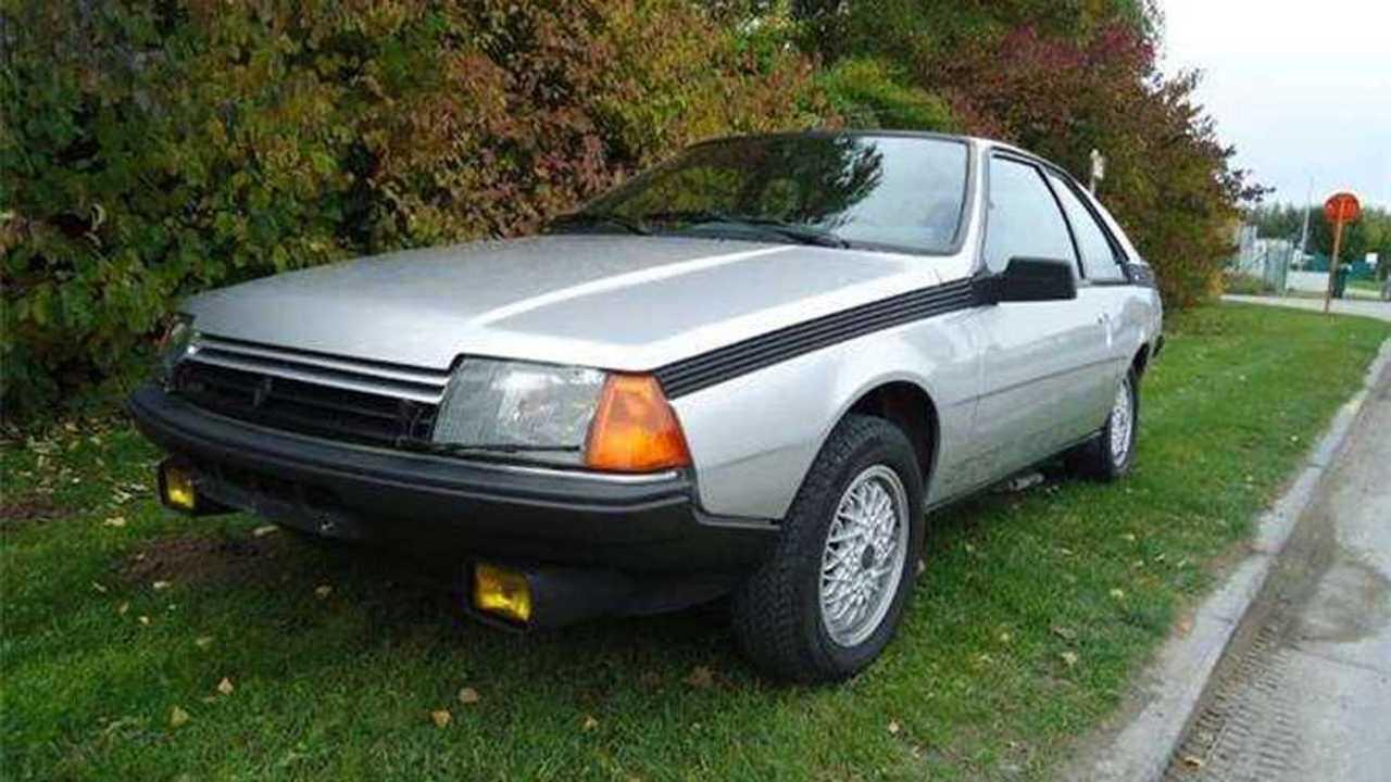 Renault Fuego Turbo 1985, a la venta