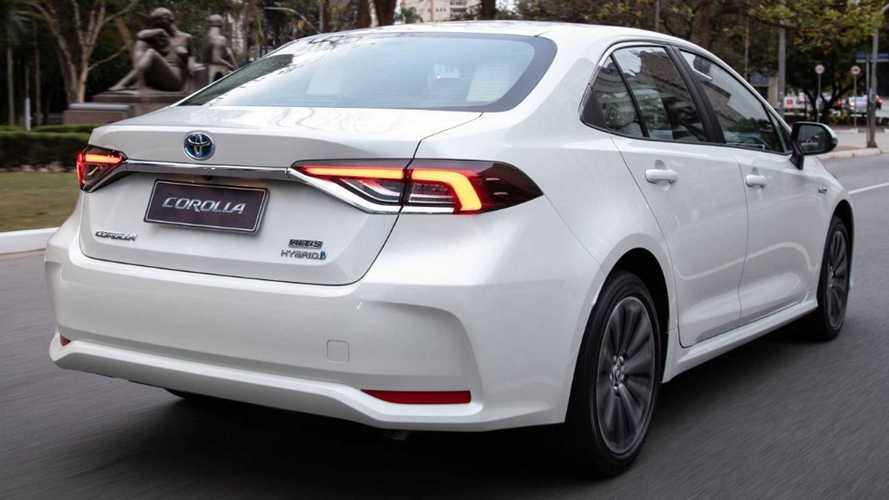 Toyota Corolla fica mais caro em setembro e supera R$ 170 mil