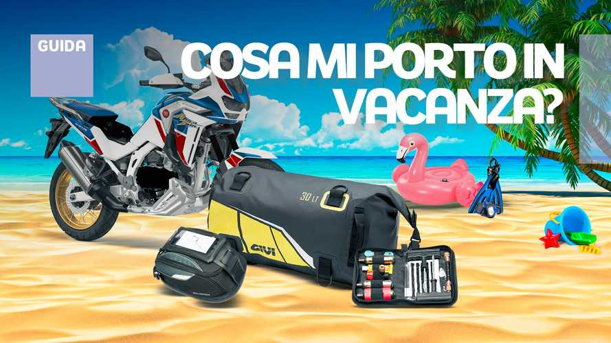 Estate in moto: gli accessori fondamentali per le vacanze
