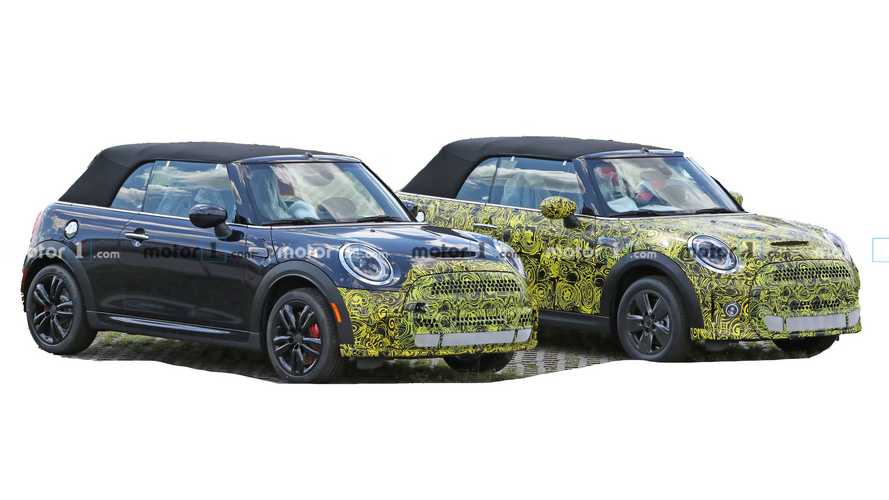 Mini Cooper Convertible Spy Photos