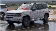 Ford Bronco Sport 2021 - Novo flagra