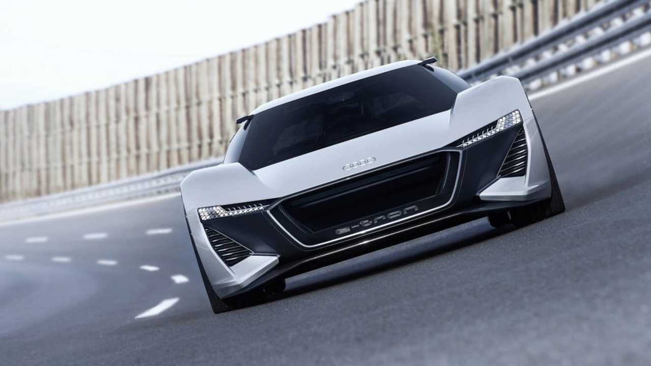 Audi представила концепт 775-сильного электрического спорткара