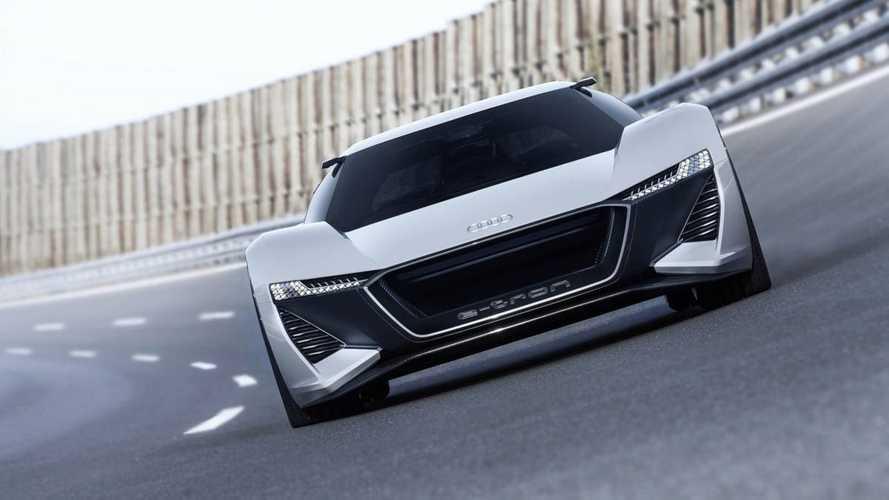 Audi запустит в серию электрический суперкар PB18 e-tron