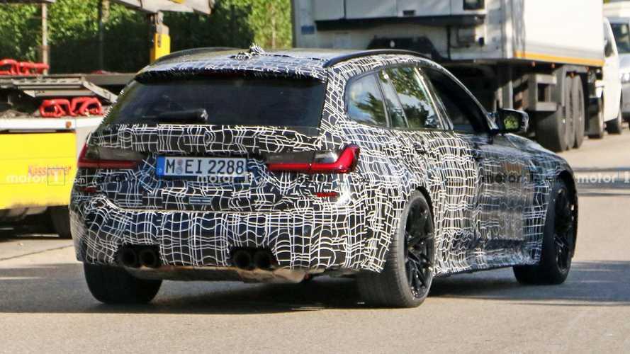 El BMW M3 Touring 2022 ya está en movimiento