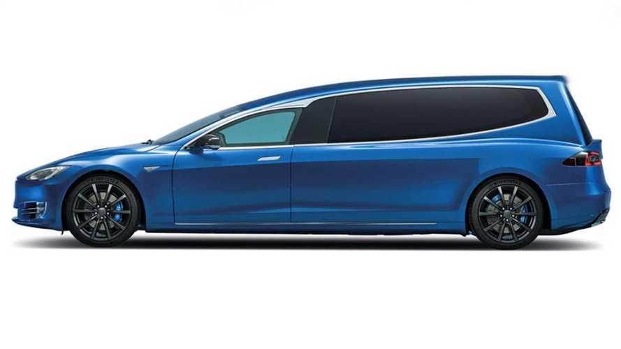 This Tesla Model S-Based Hearse Has 220 Miles Of Range