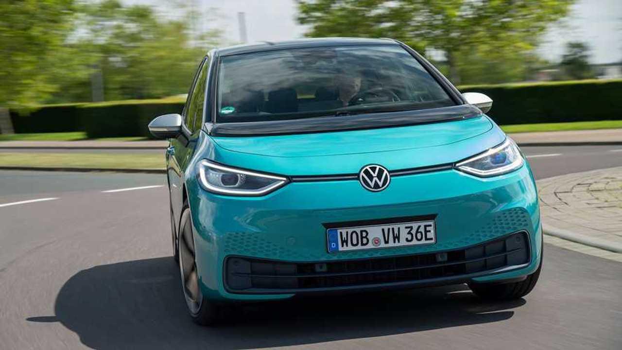 Volkswagen ID.3 (2020)  teste - curva