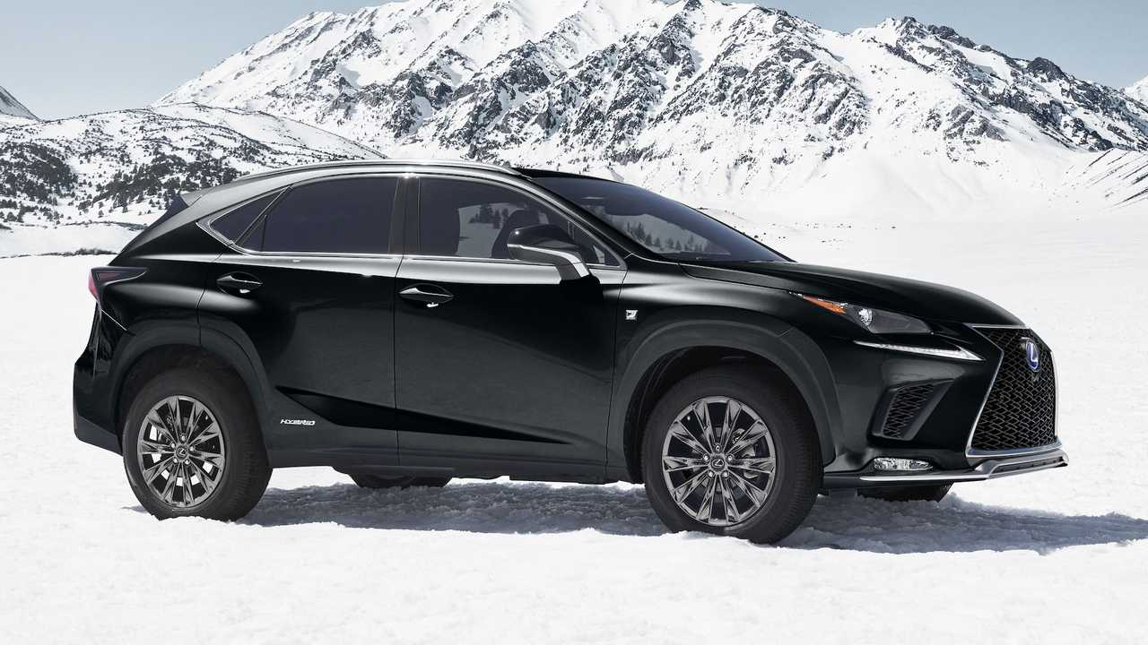2021 lexus nx hybrid f sport black line special edition in
