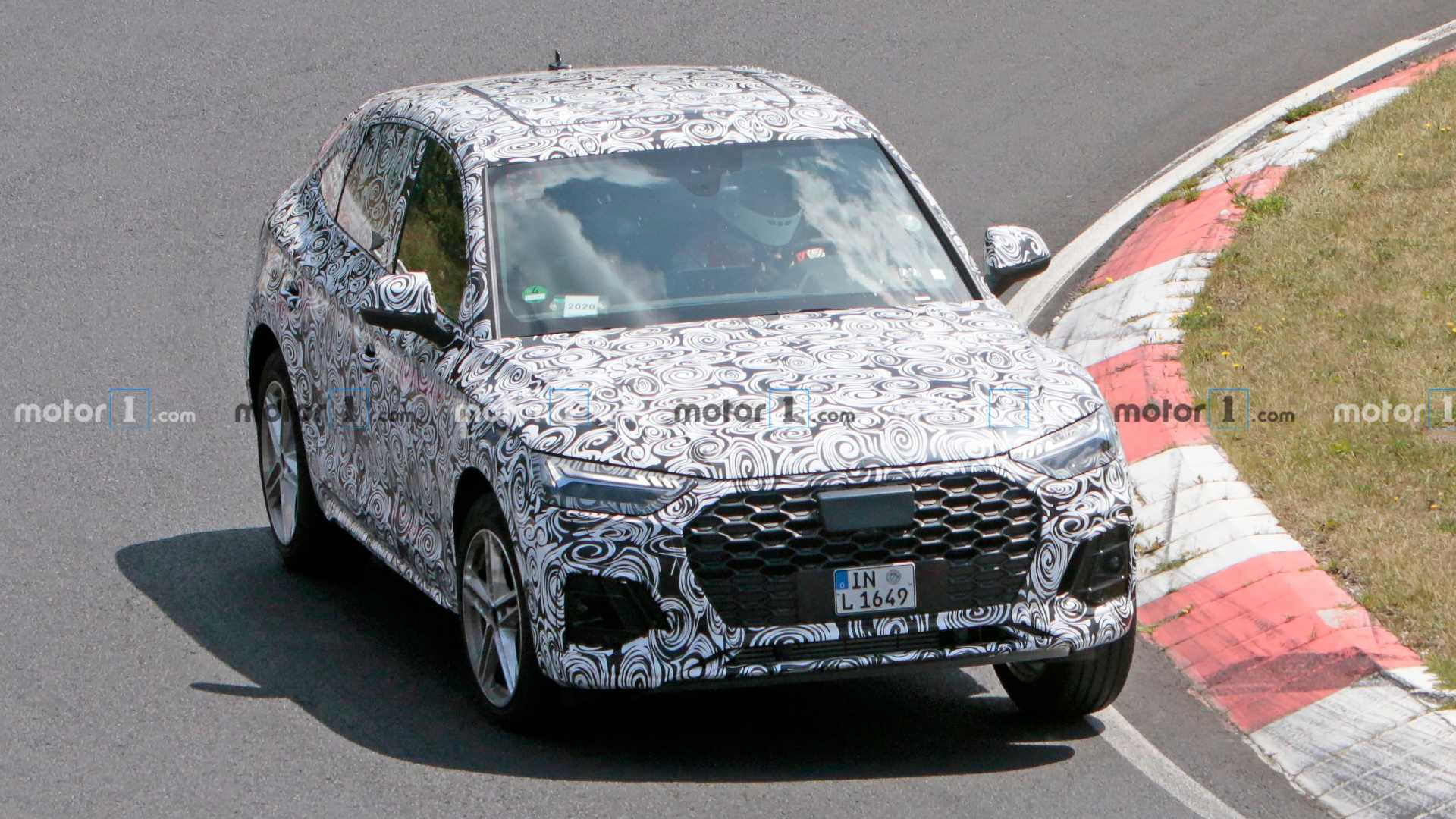 2020 - [Audi] Q5 Sportback - Page 7 2021-audi-q5-sportback-spy-shot
