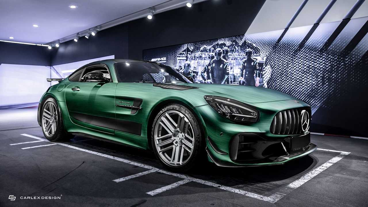 Mercedes-AMG GT R Pro By Carlex Design Front Three Quarters