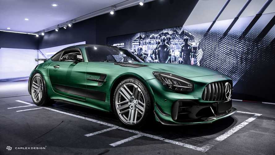 Mercedes-AMG GT R Pro By Carlex Design Has Flying Skulls On The Seats