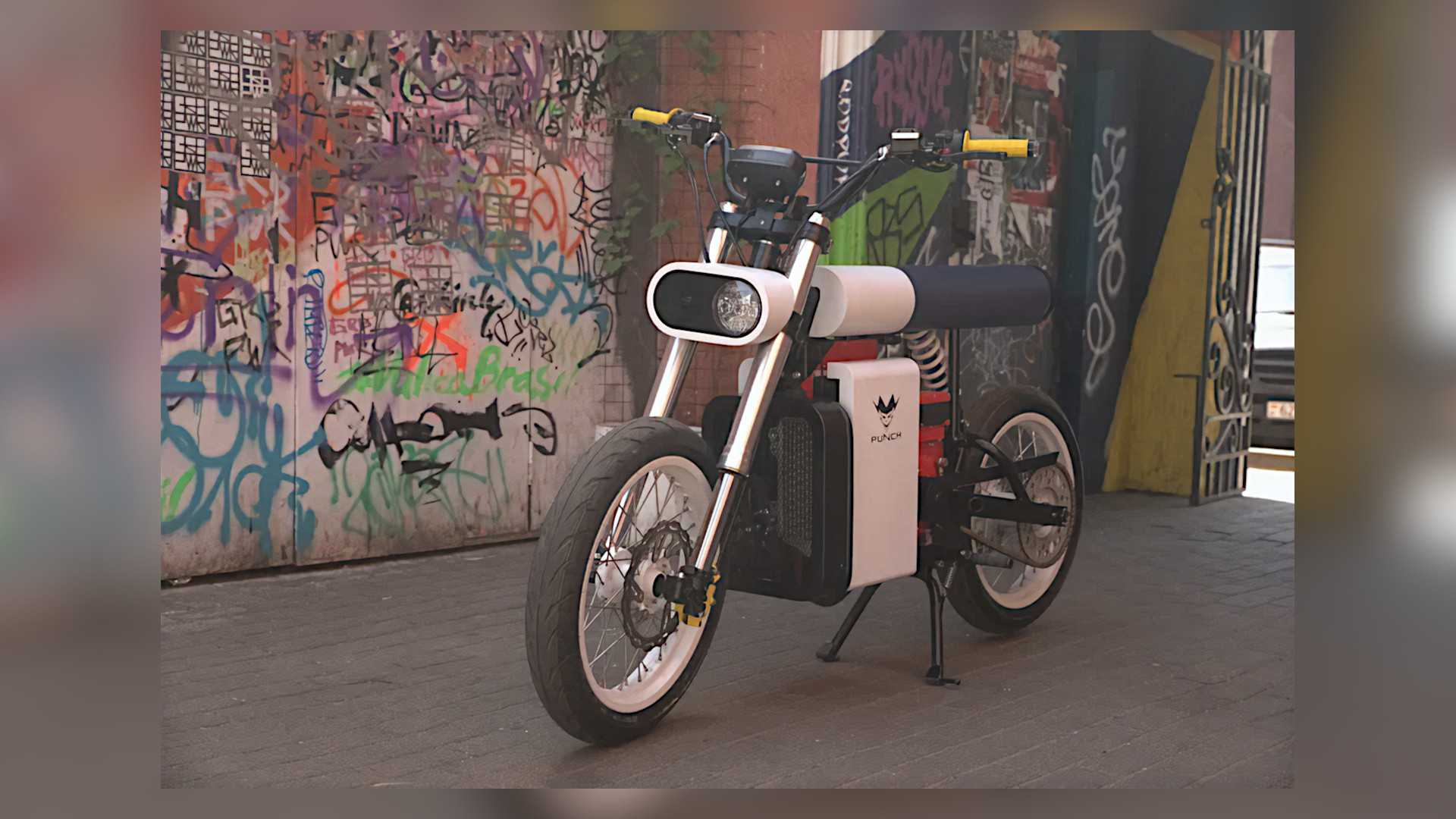 Punch Electric Motorcycle Is A Striking Design From Belarus