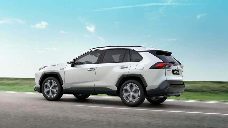 Toyota RAV4 Prime Spawns In Europe As Suzuki Across PHEV