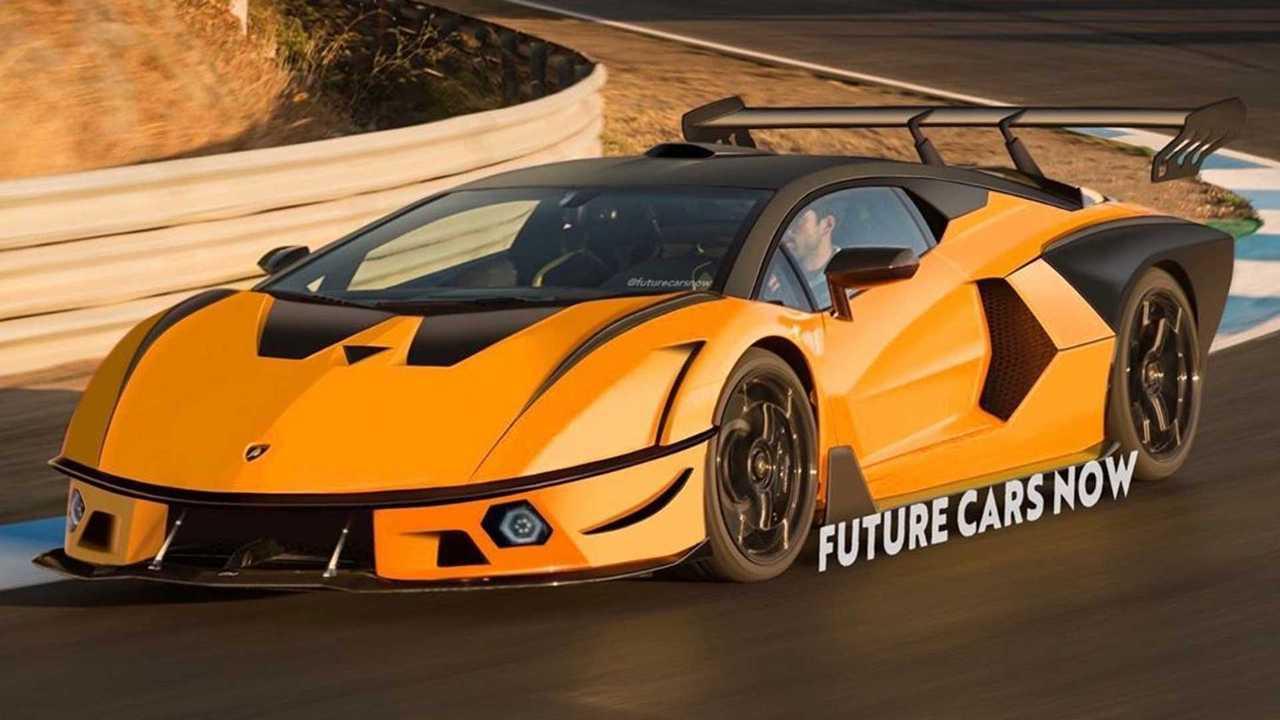 Lamborghini SCV12 rendering