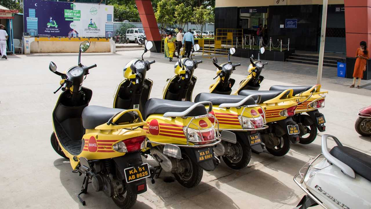 Bounce And CredR Develop Sustainable Motorcycle Rental Business Model In India