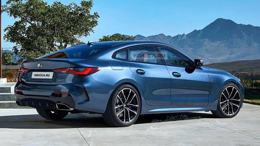 Novo BMW Série 4 Gran Coupé 2021 - Projeções