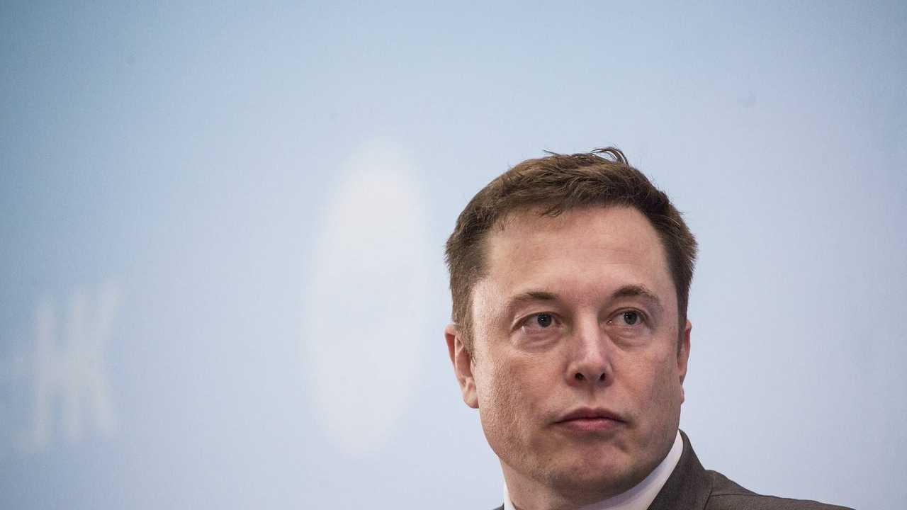 Un primo piano di Elon Musk