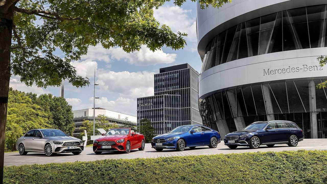 seit 2016: Mercedes-Benz Baureihen 213 und 238