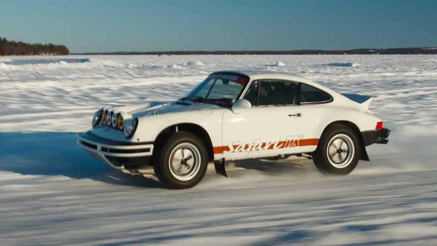 Safari-spec Porsche 911 by Kelly Moss
