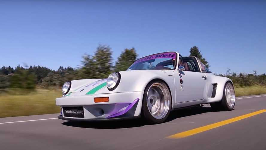 Rauh-Welt Begriff Porsche 911 With Molded Wide Fenders Looks Rad