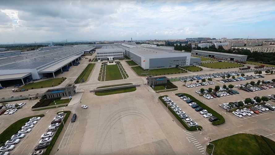 Pabrik Luqiao Geely-Volvo di Cina
