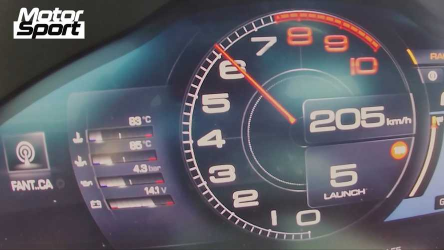 Watch Ferrari Roma rocket to 124 mph in acceleration test video