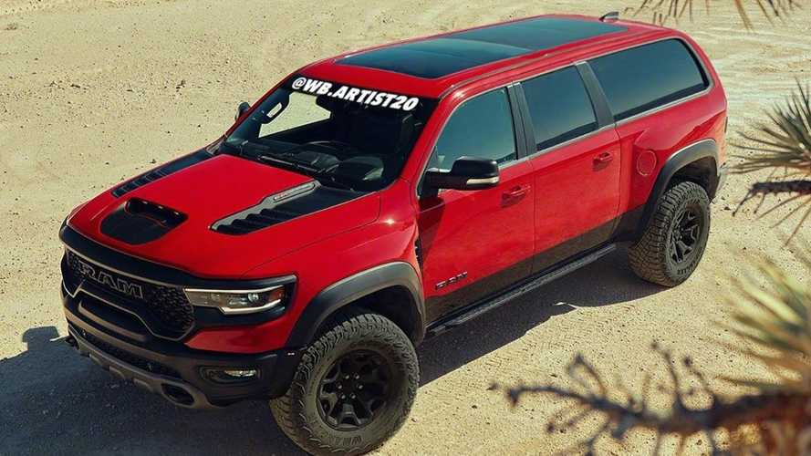Ramcharger TRX Rendering Makes Us Wish It Were Real