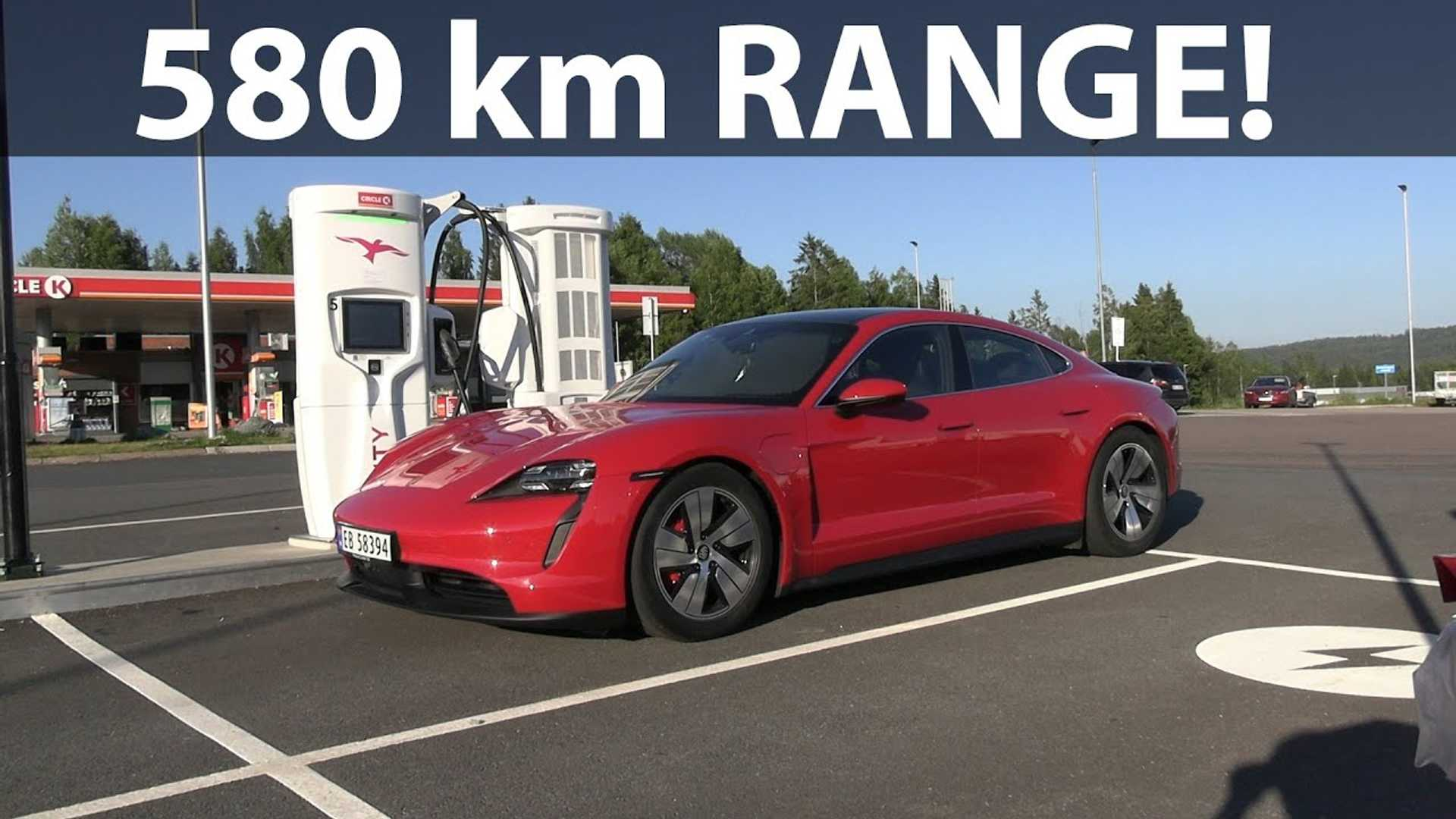 Porsche Taycan 4s 93 Kwh Range Test Surprises With Strong Results