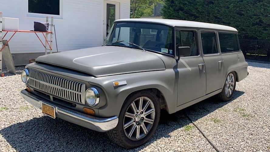 This 1968 International Travelall For Sale Holds A Big Surprise Inside