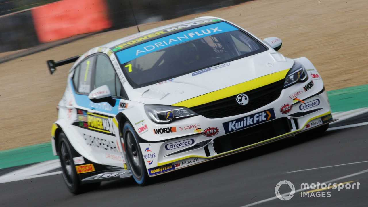 Jason Plato at Silverstone testing 2020
