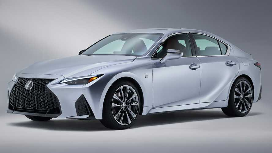 Lexus IS500 Trademark Filing Seemingly Suggests V8 Sedan Is Coming
