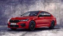 BMW M5 restyling (2020)