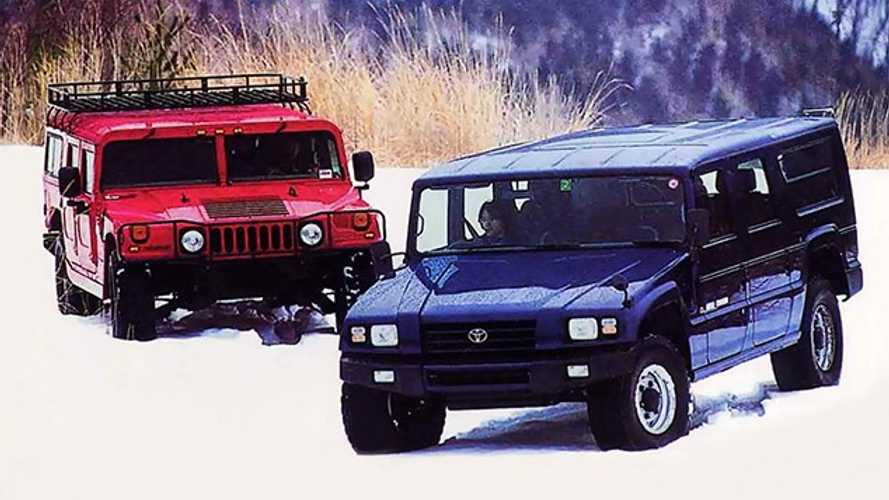 ¿Un Hummer? No, es un Toyota Mega Cruiser