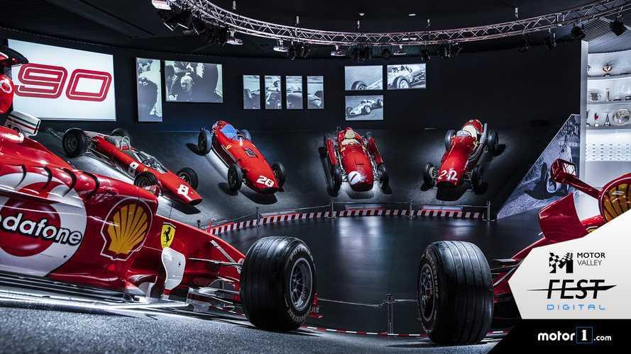 Museo Ferrari Maranello, dalle stradali alla F1 in un tour online