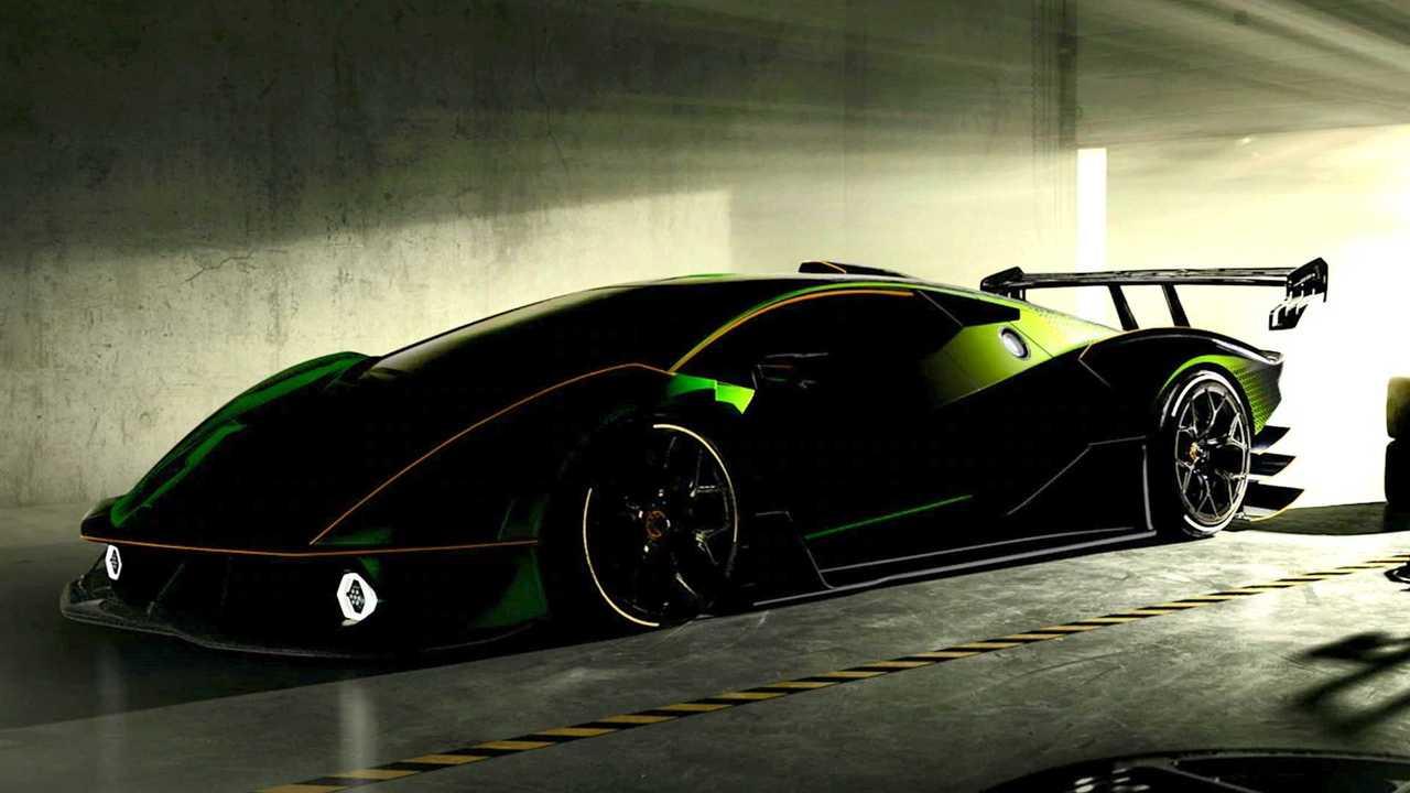 Lamborghini SCV12 Teaser