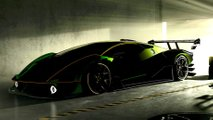 new track supercar lamborghini teaser