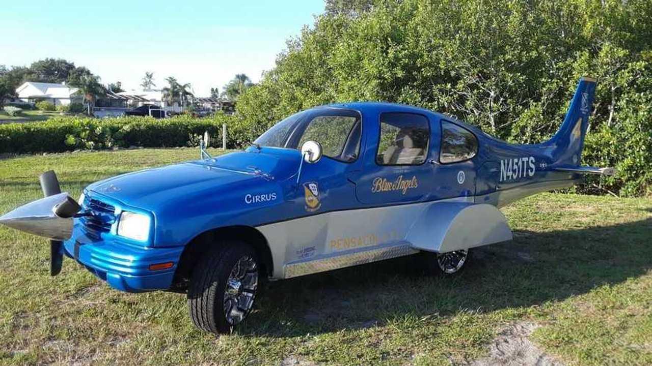 Chevrolet Tracker repülő