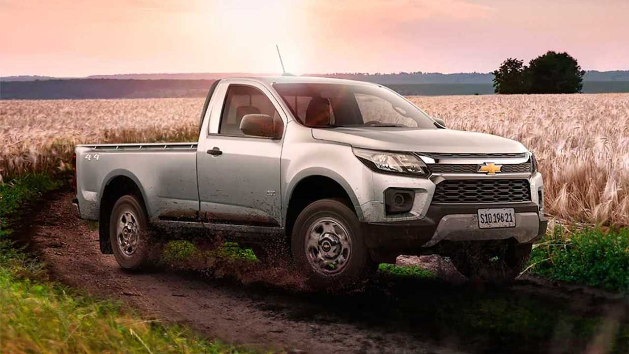 Chevrolet S10 Cabine Simples 2021