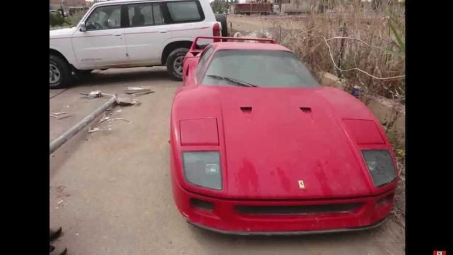Der vergessene Ferrari F40 von Uday Hussein