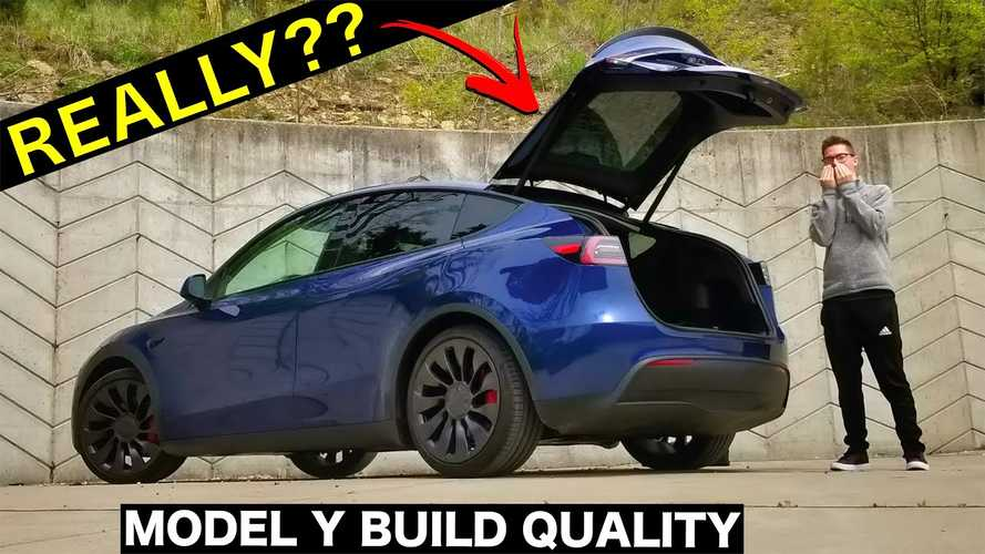 Tesla Model Y Build Quality Questioned: Tons Of Issues On This Y Seem Extreme