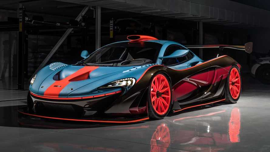 McLaren P1 GTR Gets Gorgeous F1-Inspired Gulf Livery From Lanzante