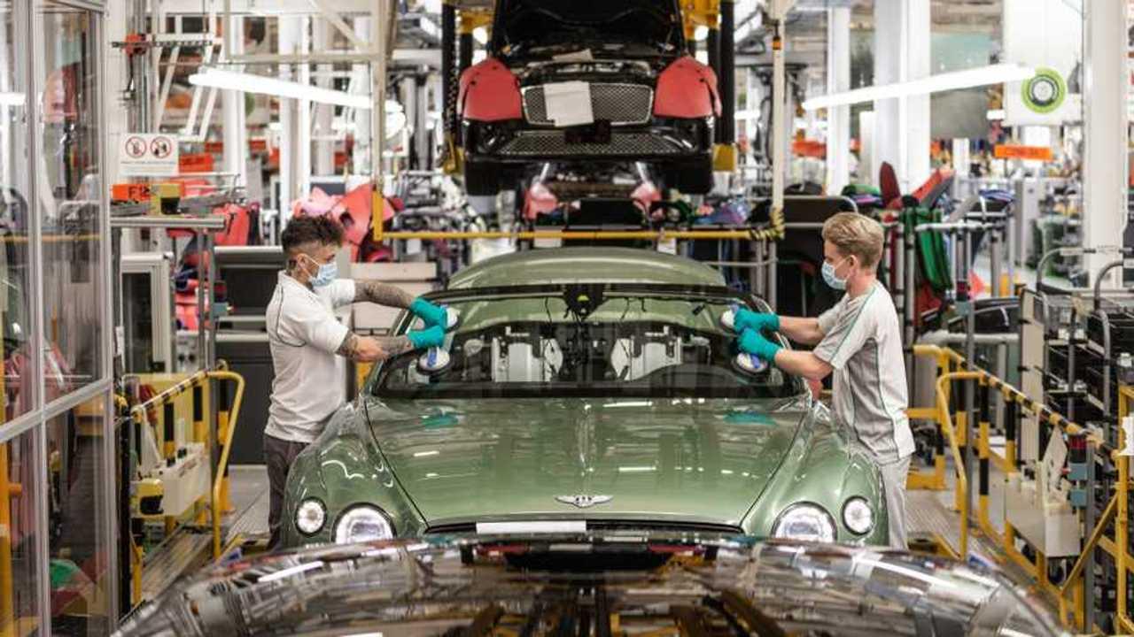 Bentley production restart